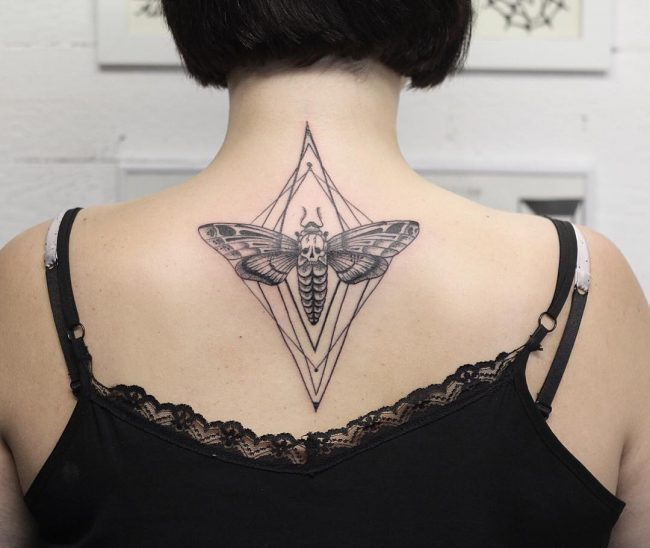 moth tattoo20