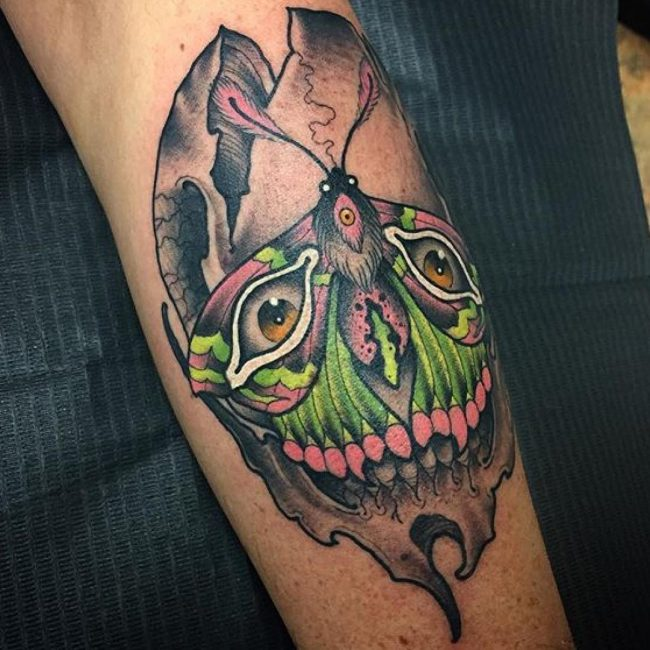 moth tattoo21