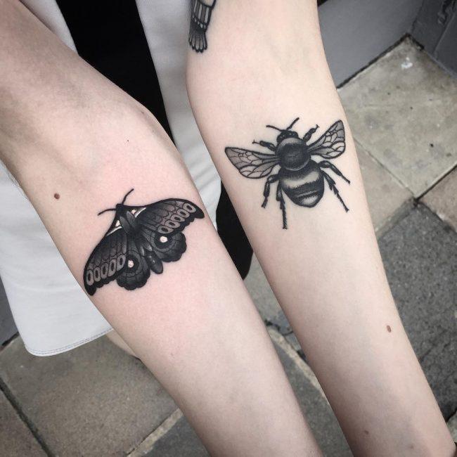 moth tattoo24