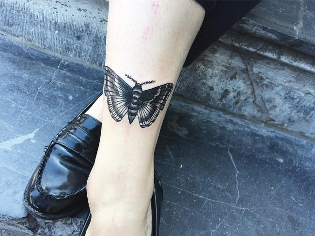 moth tattoo25