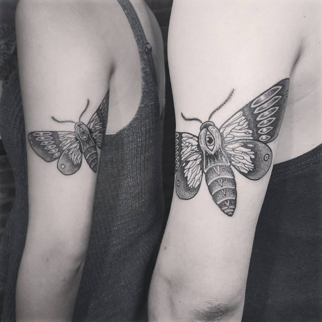 moth tattoo32