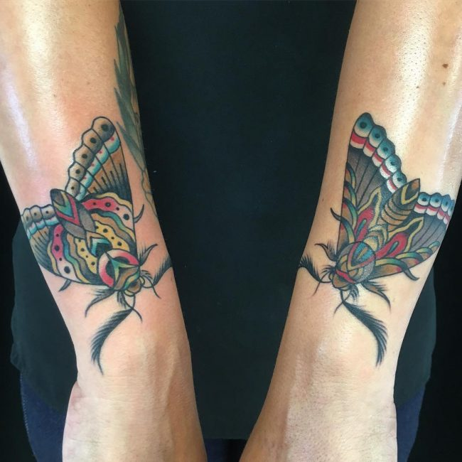 moth tattoo33