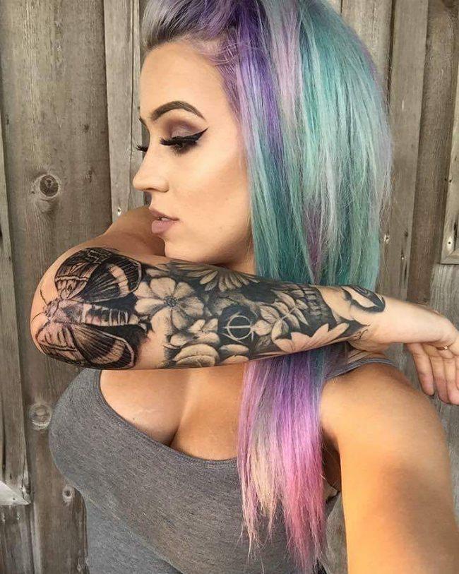 moth tattoo35