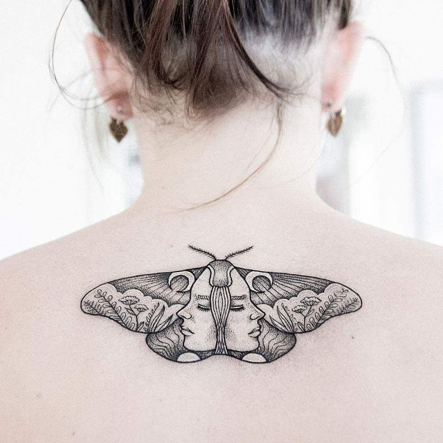 moth tattoo36