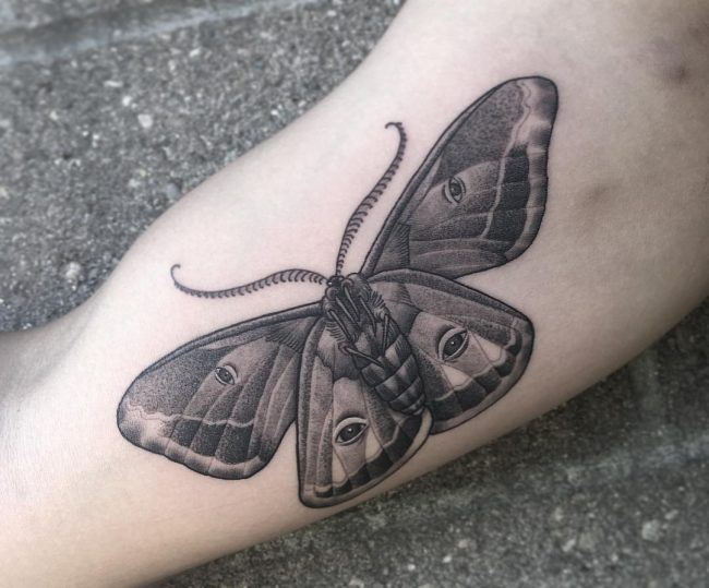 moth tattoo39