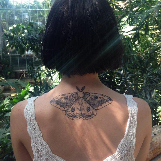 moth tattoo4