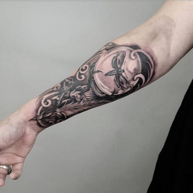 moth tattoo40