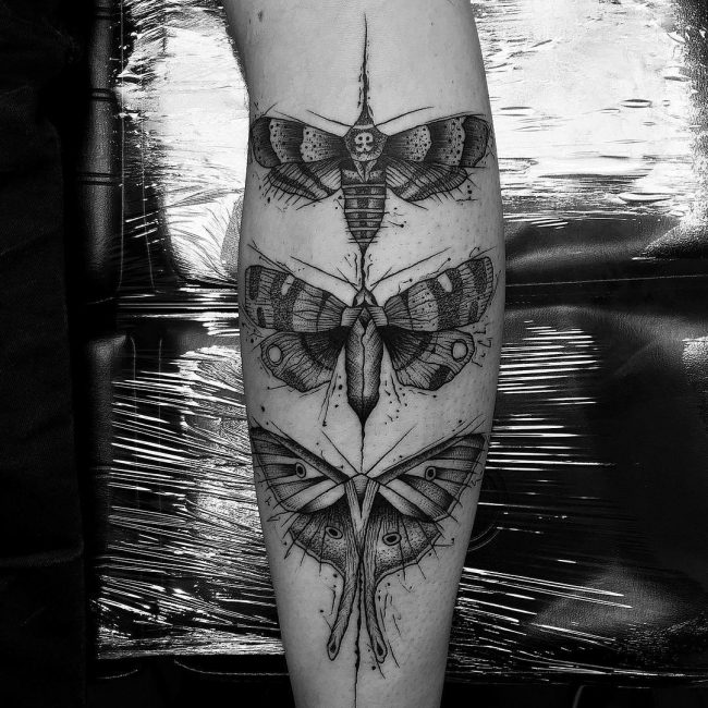 moth tattoo42