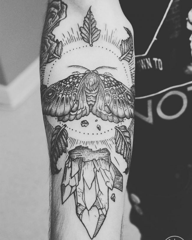 moth tattoo43