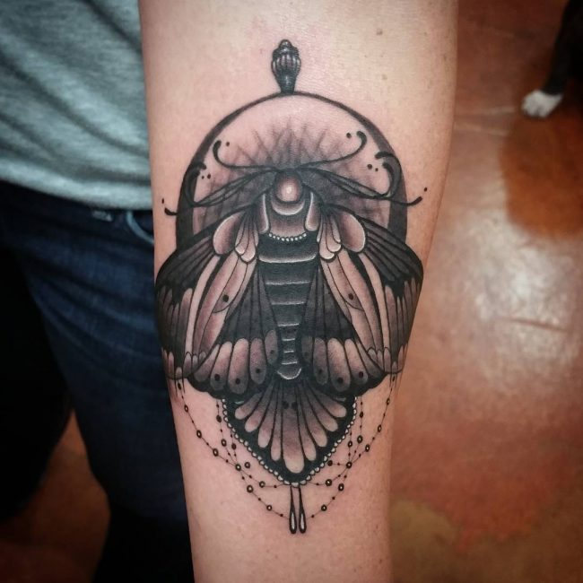 moth tattoo44