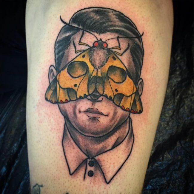 moth tattoo46