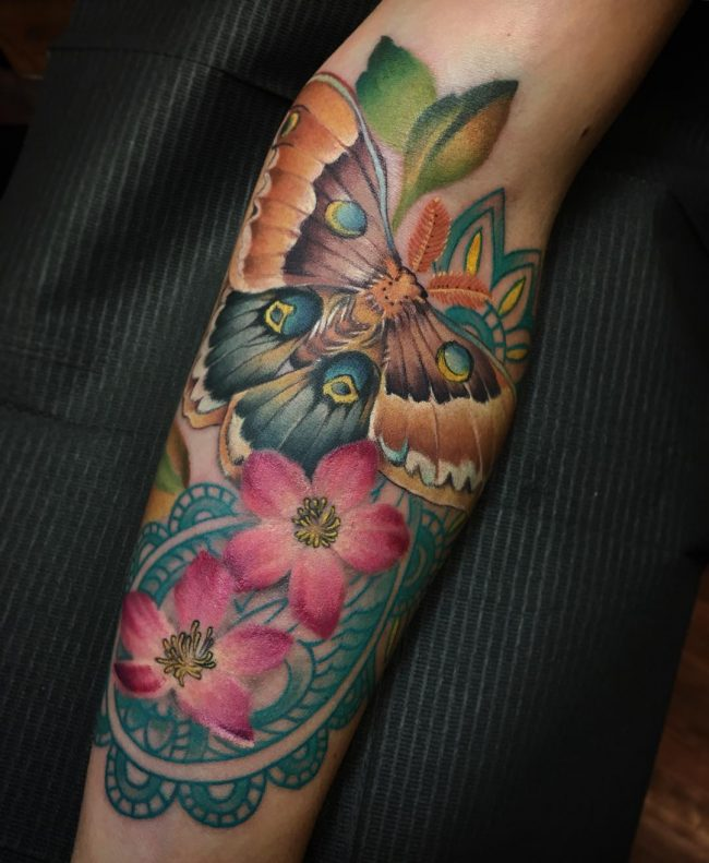 moth tattoo49