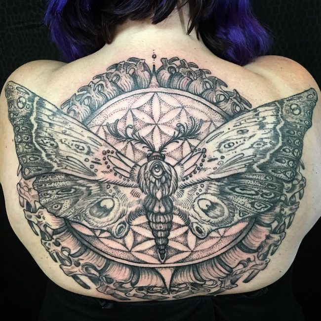 moth tattoo5