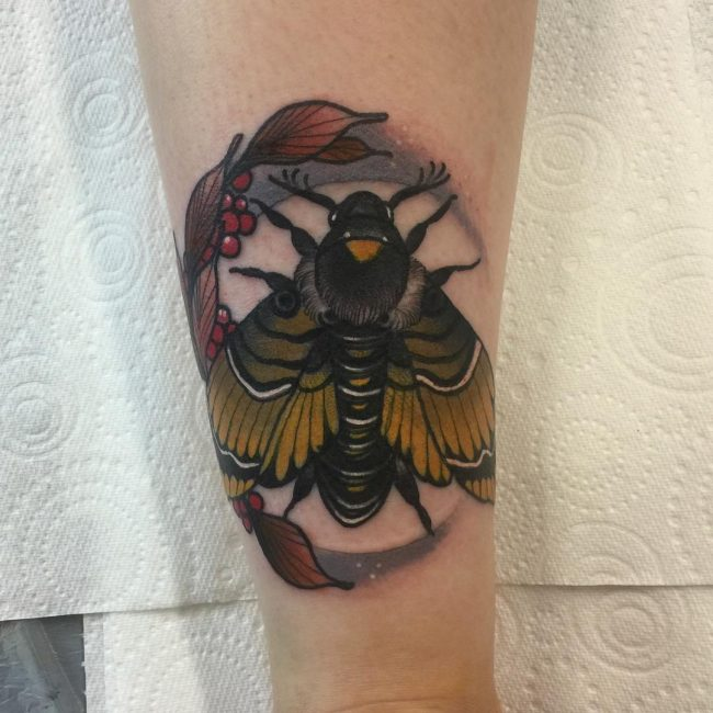 moth tattoo52