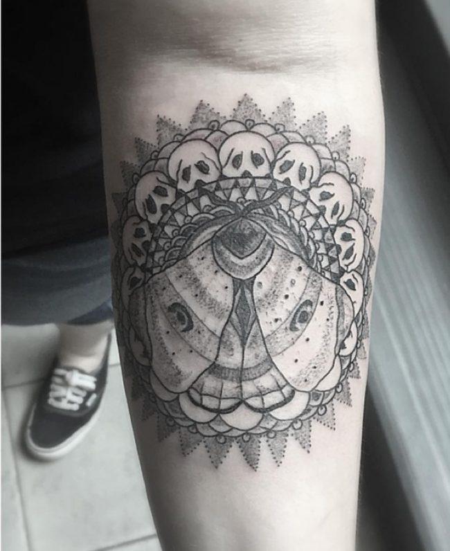moth tattoo53