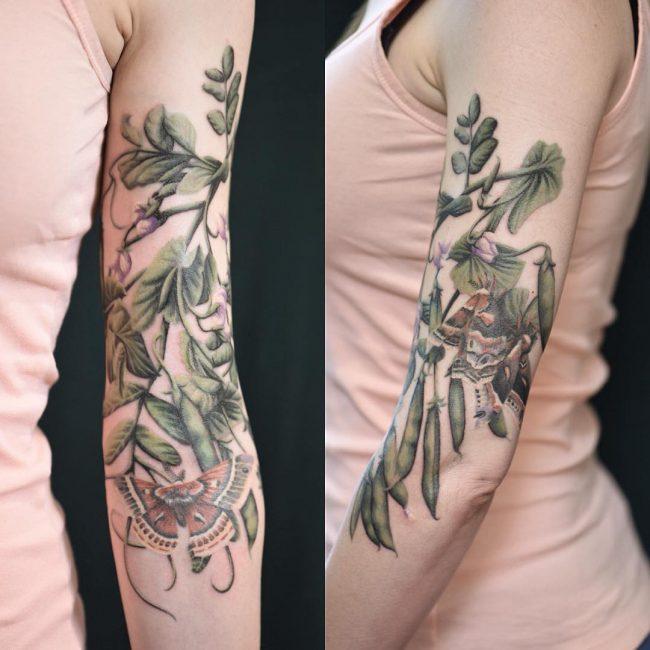 moth tattoo55