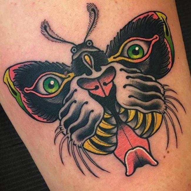 moth tattoo56