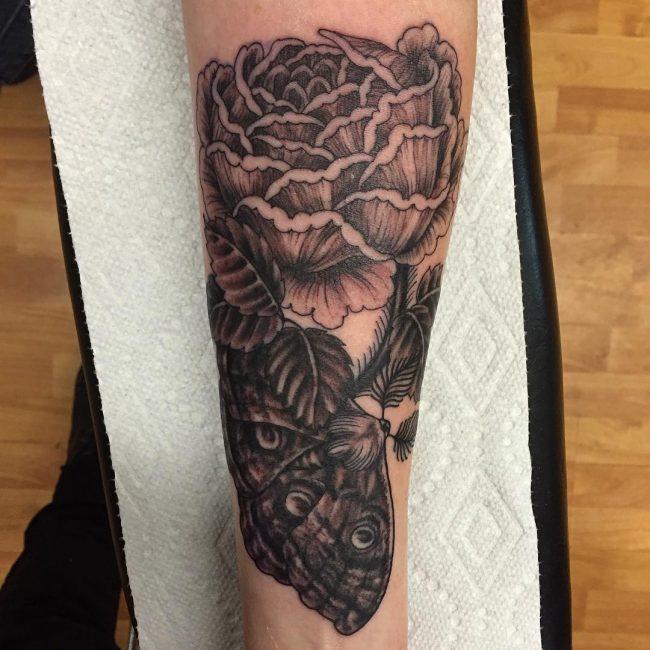 moth tattoo57