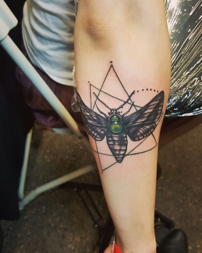 moth tattoo60