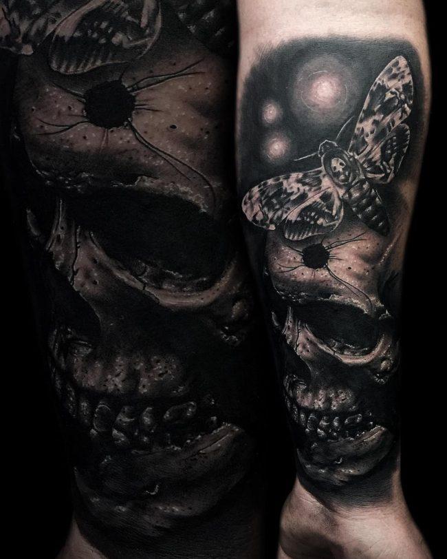 moth tattoo7