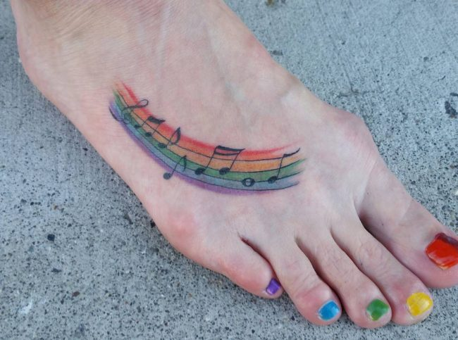 music note tattoo13