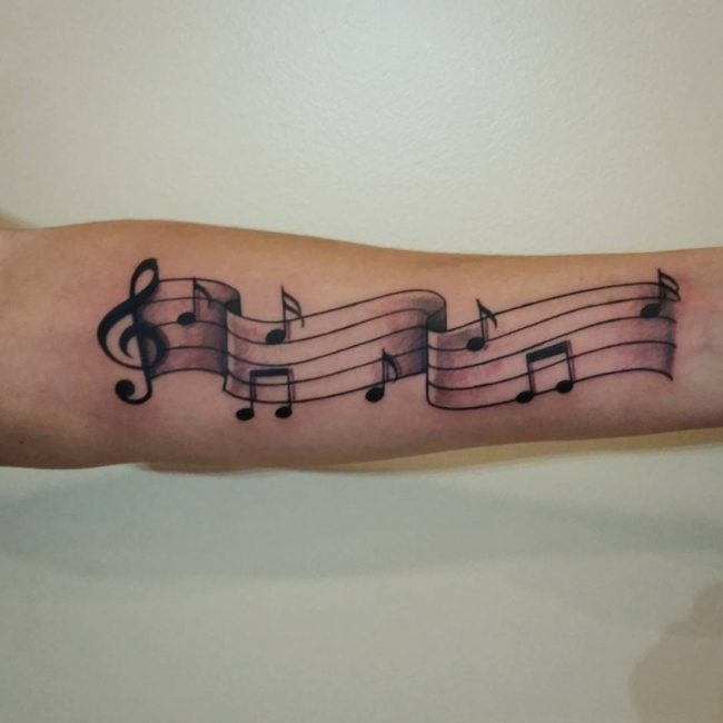 music note tattoo17