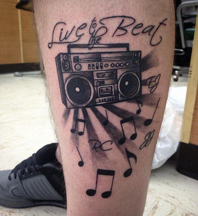music note tattoo19