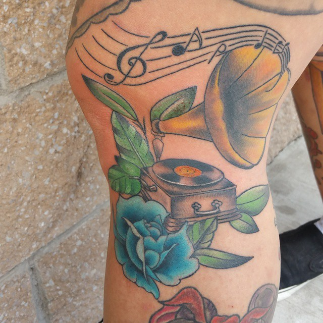 music note tattoo26