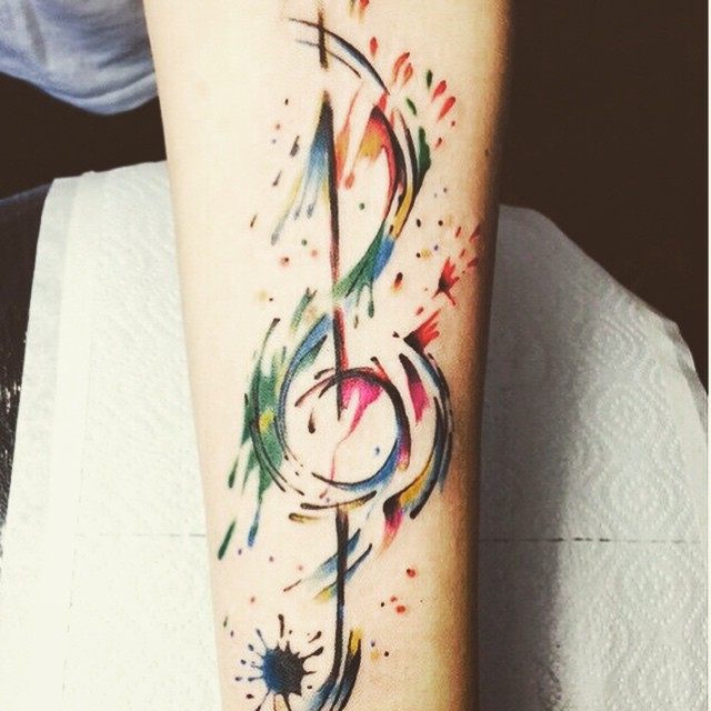 music note tattoo30