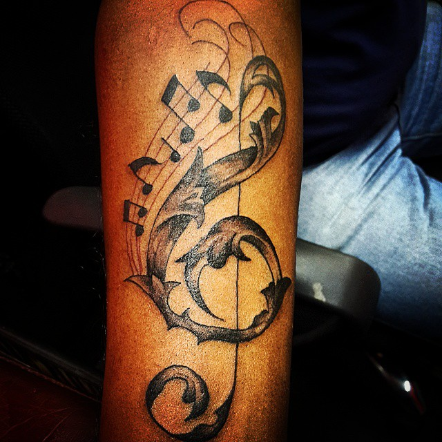 music note tattoo32
