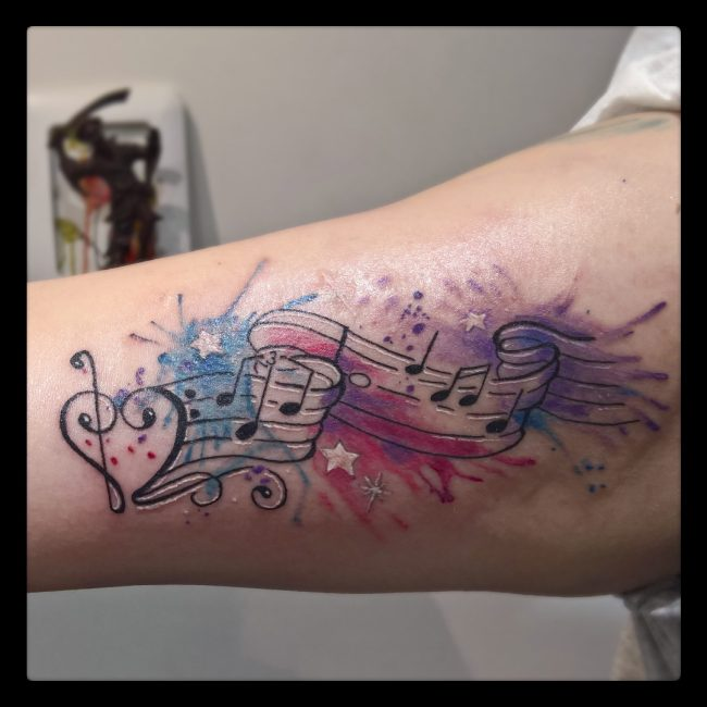 music note tattoo8