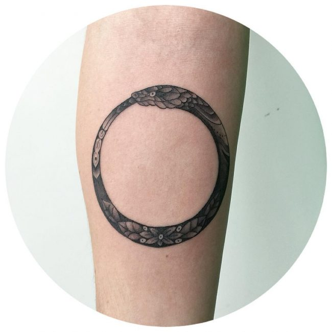 ouroboros tattoo1