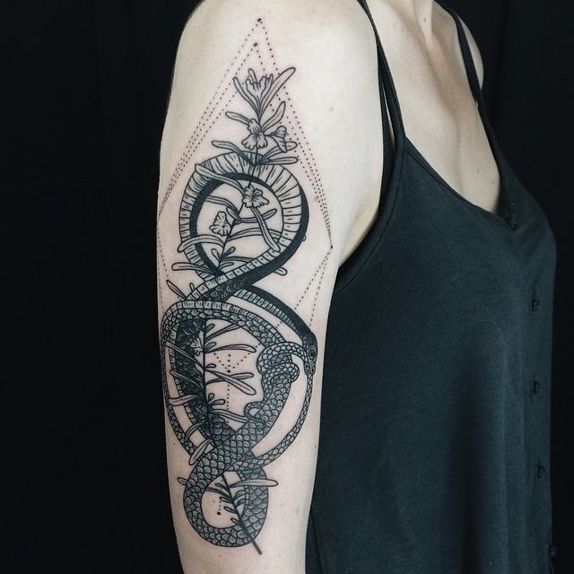 ouroboros tattoo19