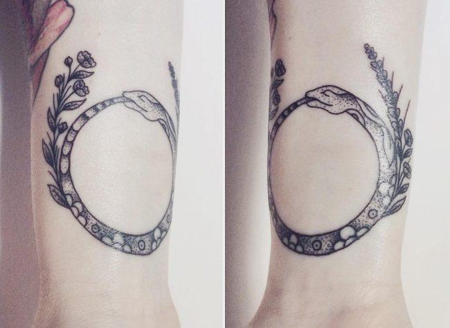 ouroboros tattoo2
