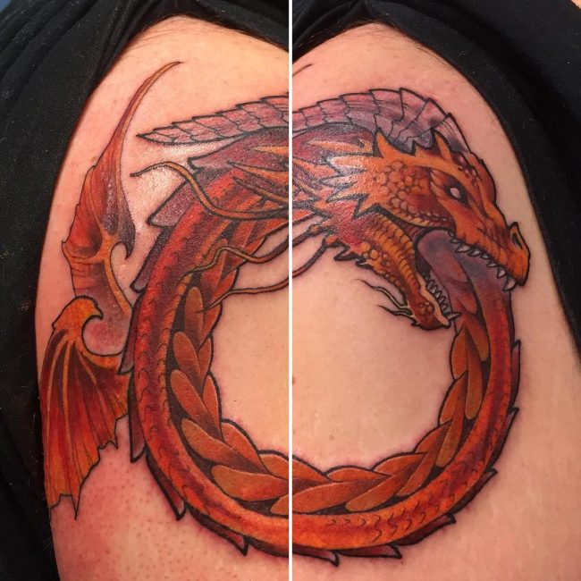 ouroboros tattoo22