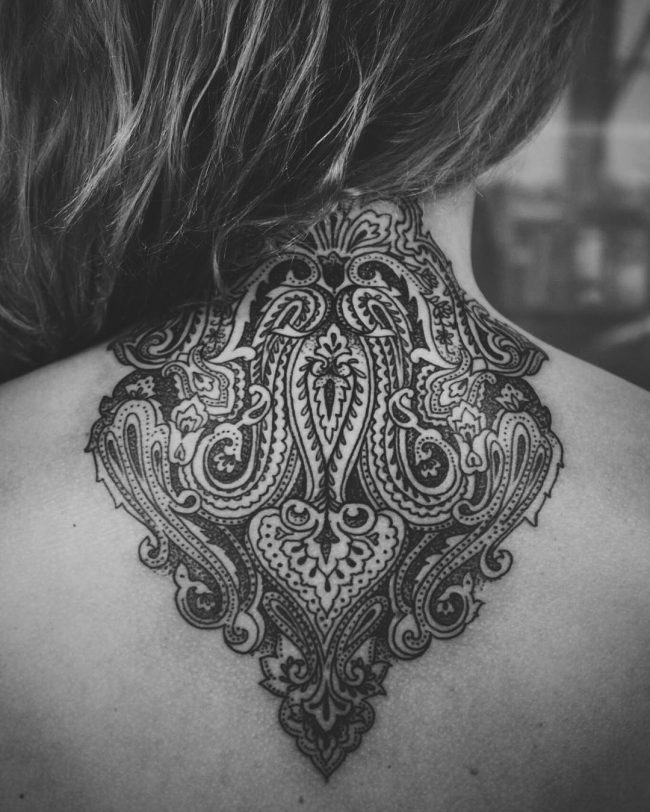 paisley tattoo12