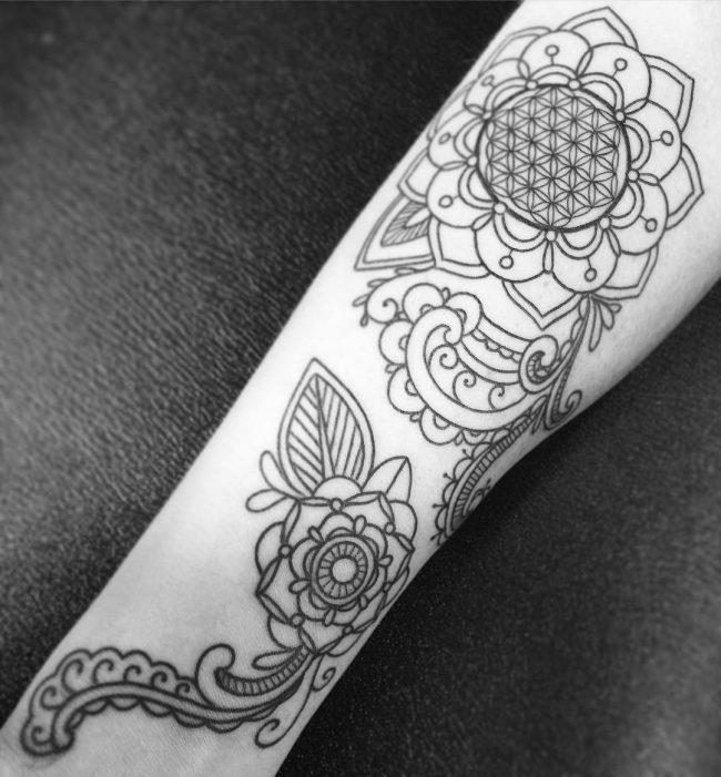 paisley tattoo15