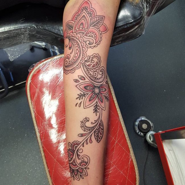 paisley tattoo16