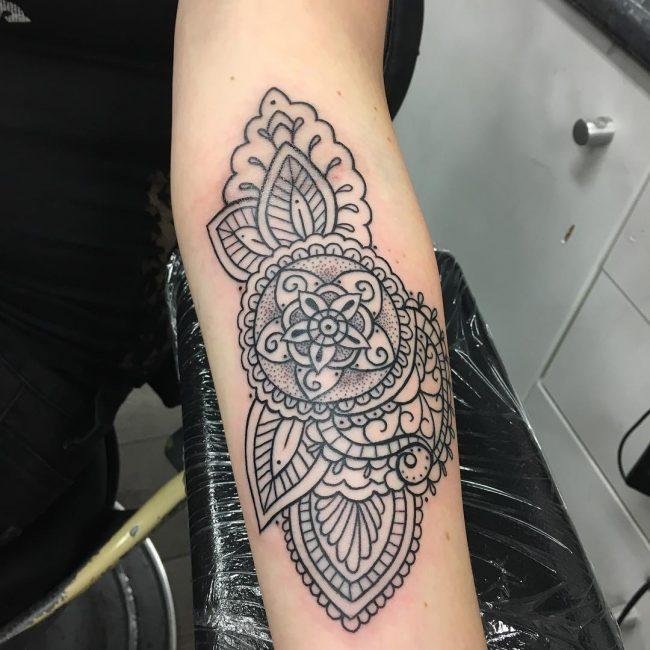 paisley tattoo17