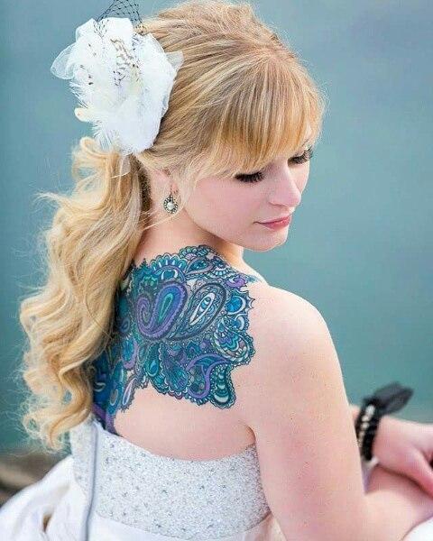 paisley tattoo23