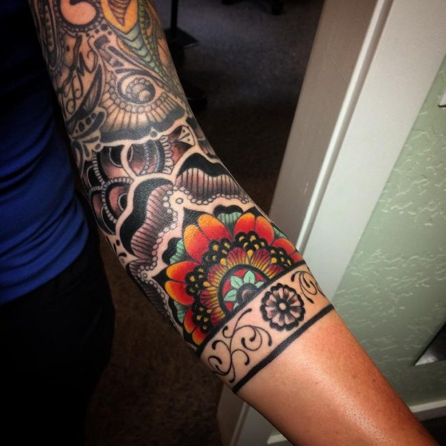 paisley tattoo27