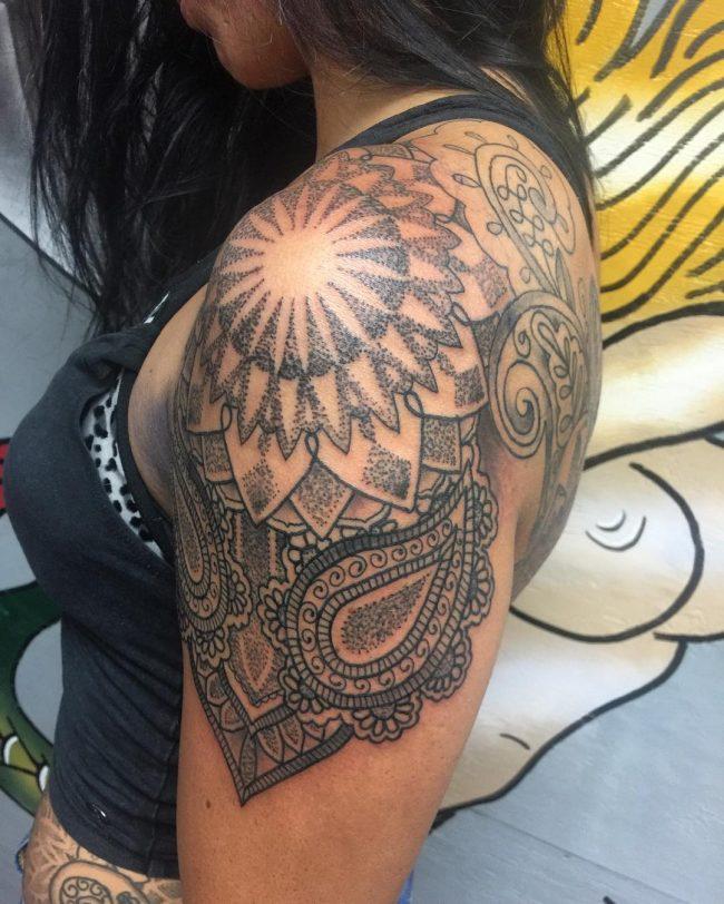 paisley tattoo7