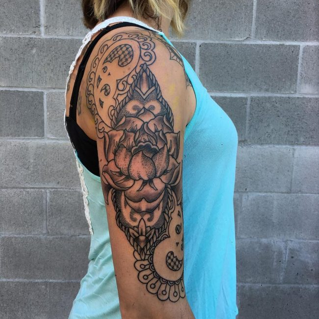 paisley tattoo8