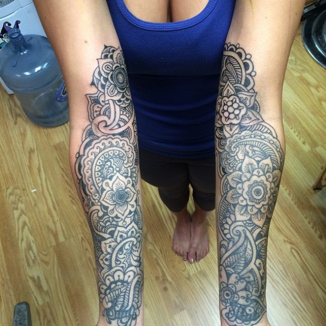 paisley tattoo_