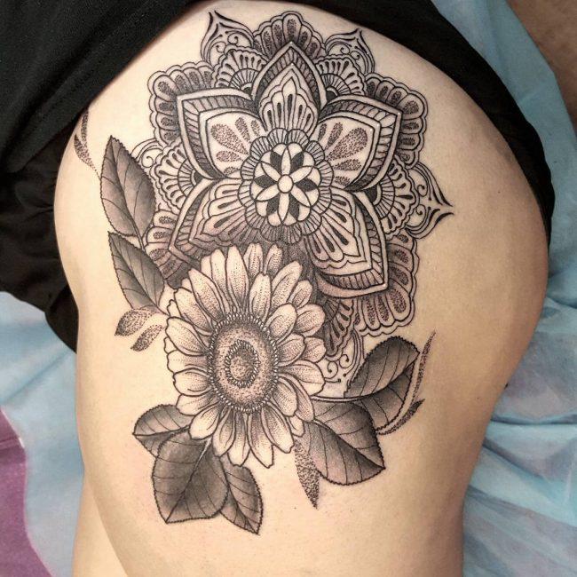 paisley tattoo_