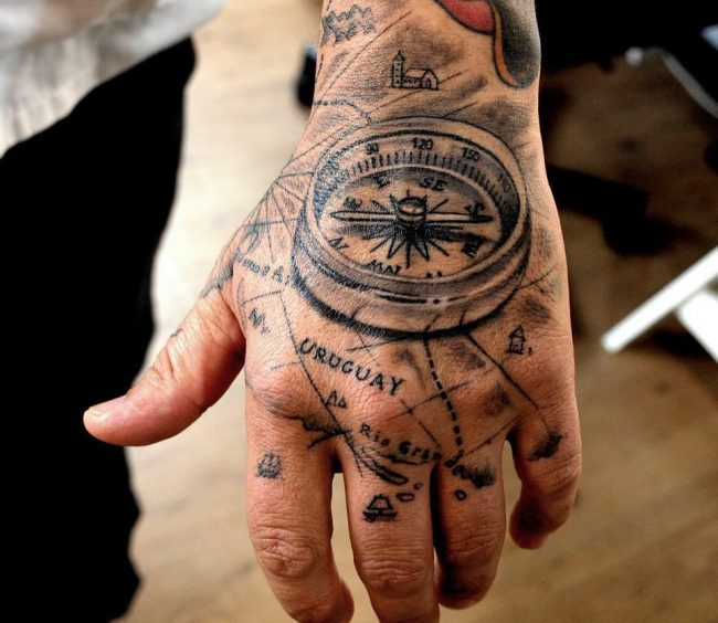 pocket watch tattoo20