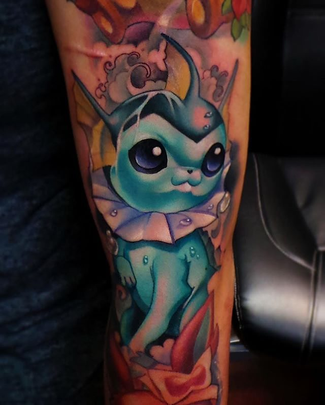 pokemon tattoo64