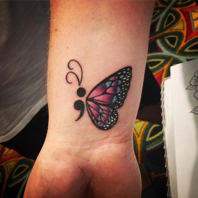 semicolon tattoo11