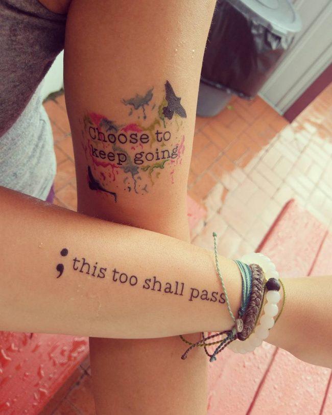 semicolon tattoo16