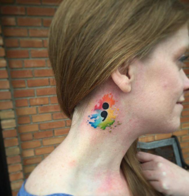 semicolon tattoo26